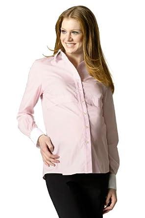 Rosie Pope Maternity Classic Empire Shirt Light Pink XSM