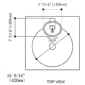 vt4239 geh rtetes glas schiff runde sp le mit einhand wasserhahn und einbauring und pop up. Black Bedroom Furniture Sets. Home Design Ideas