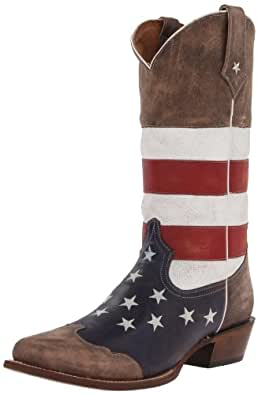 roper s american flag western boot shoes