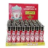 LFC Liverpool Football Club Genuine Refillable Clipper Lighter One Supplied