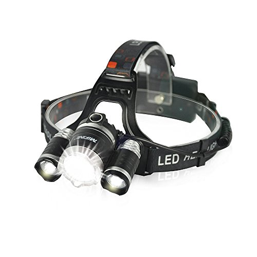 Mifine-Waterproof-LED-Headlamp-Headlightsuper-Bright-4-Modes-3000lm-Xm-l-XML-T6-Ledwaterproof-for-Outdoor-Sports-Hiking-Camping-Riding-Fishing-Hunting