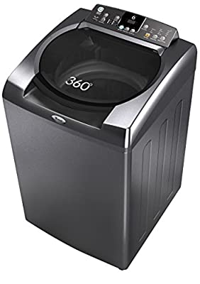 Whirlpool Bloom Wash 8013H Fully-automatic Top-loading Washing Machine (8 Kg, Graphite)