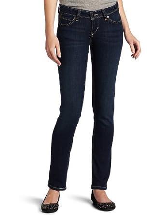 (爆抢)李维斯Levi's Juniors Curve ID Skinny 美女紧身牛仔裤白$10.9