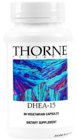 Thorne DHEA-15, 90 capsules végétariennes (FFP)
