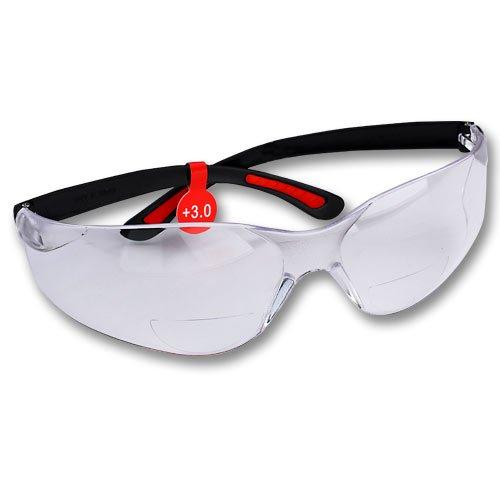 fastcap magnifying bifocal safety glasses 3 0 diopter. Black Bedroom Furniture Sets. Home Design Ideas