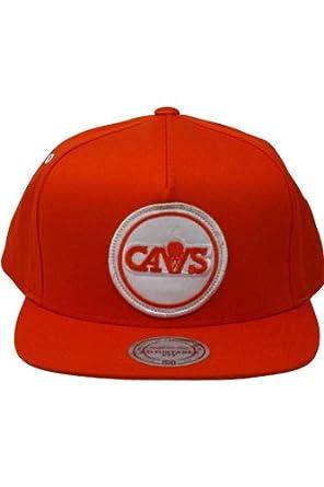 Cleveland Cavaliers Mitchell & Ness Orange Hardwood Classics Novelty