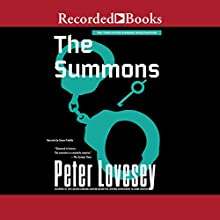 The Summons Audiobook by Peter Lovesey Narrated by Simon Prebble