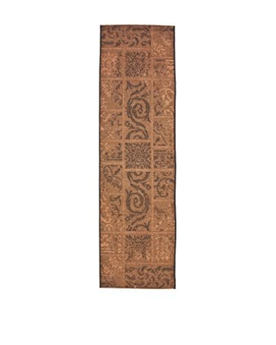 Tapis a Porter Alfombra Vetus Marrón 70 x 240 cm