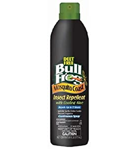 Mosquito Coast Sunscreen Insect Repellent Continuous Spray SPF 30