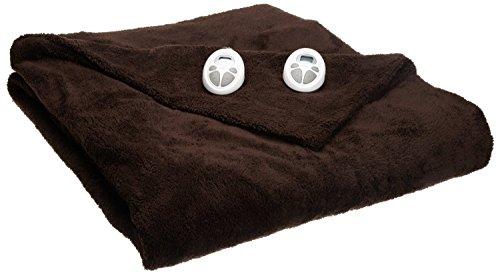Sunbeam Lofttech Heated Blanket, King, Walnut, Bsl8Cks-R470-16A00