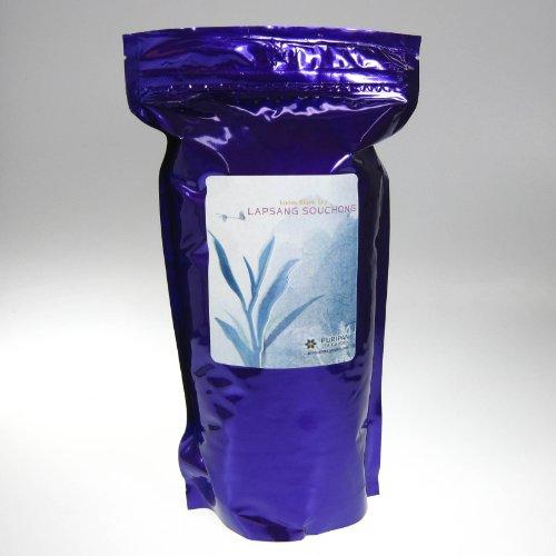 Puripan Organic Loose Black Tea, Lapsang Souchong Bulk 1 Lb Bag,