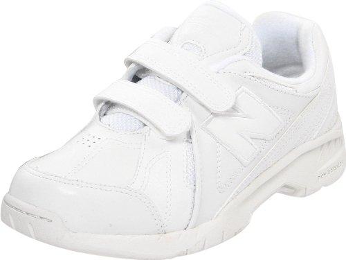 New Balance Kv624 Uniform Trainer (Little Kid/Big Kid),White,3.5 W Us Big Kid front-913986