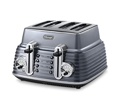 Delonghi Toaster Scultura, 1800 W, Black_Parent