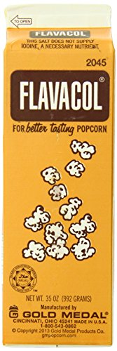 Gold Medal Prod 2045 Flavacol Seasoning Popcorn Salt, 2 Pound 3 Ounce (Pack of 12) (Gold Medal Seasoning compare prices)