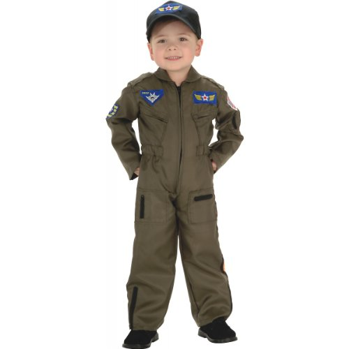 Air Force Fighter Pilot Costume - Toddler front-505846