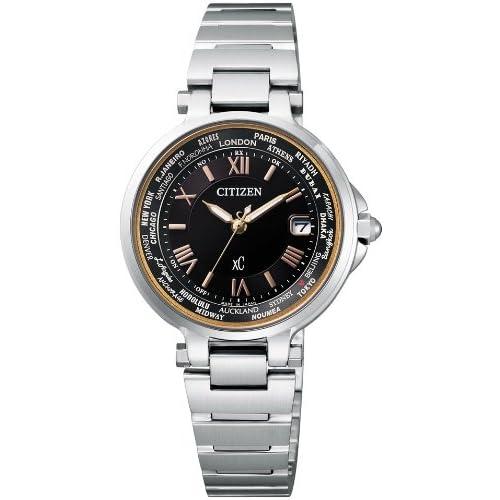 [シチズン]CITIZEN 腕時計 xC クロスシー HAPPY FLIGT ハッピーフライト Eco-Drive エコ・ドライブ 電波時計 EC1010-57X レディース