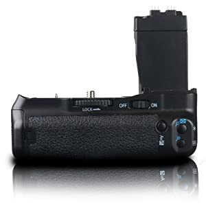 Photive Battery Grip for Canon EOS Rebel T4i, T3i, T2i (Replaces Canon BG-E8) PH-GRP550D