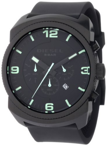 Diesel Men's DZ4192 Advanced Chronograph Black Dial Watch