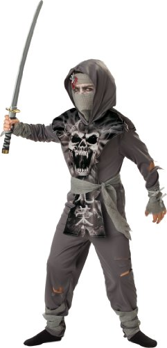 InCharacter Costumes, LLC Big Boys' Zombie Ninja Tabard Set
