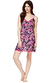 Limited Collection Pure Modal Floral Chemise