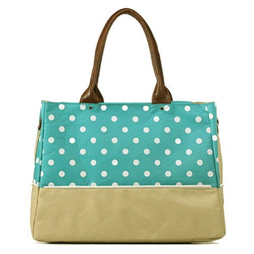 Ciamlir Fashion New Baby Diaper Nappy Changing Bag Tote Shoulder Storage Mummy Handbag(Green)) front-906672