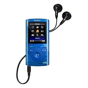 Sony NWZ-E384L.CEW Baladeur numérique Mémoire Interne MP3 8Go Bleu