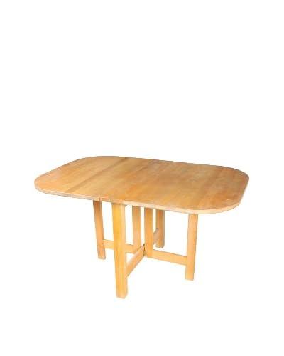 Farmhouse Folding Dining Table, Blonde