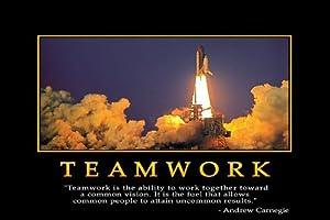 Amazon.com: Motivational Inspirational Team Success Nice Silk Fabric