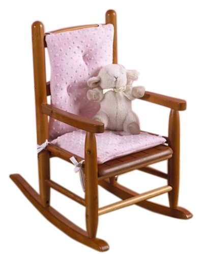 Rocking chair cushion pad set pink chair is not included with the