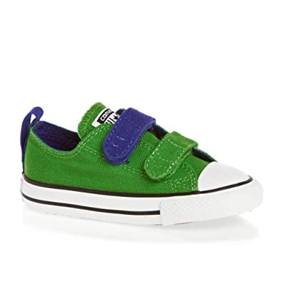 Boys Converse Infant Boys CV Ox Trainers in Green - 4 infant