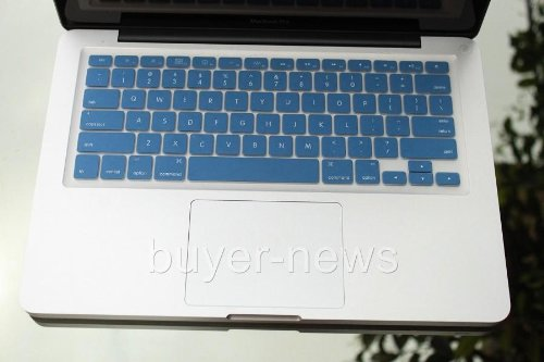 Tp Blue Silicone Keyboard Cover Skin For New Macbook 13 Included A Mini Nano Stapler For School And Office Use