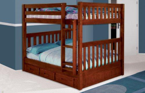 Loft Bed Over Desk 9320 front