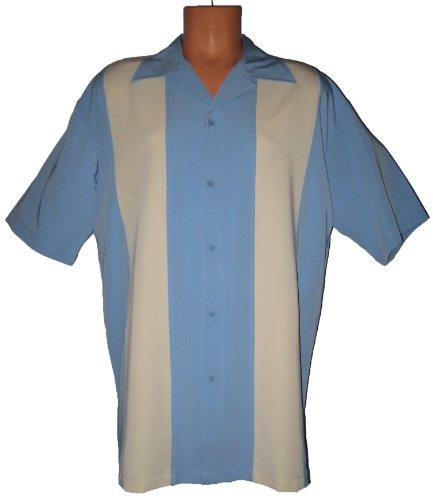 Cheap Mens Retro Bowling Shirt Big Tall Sizes