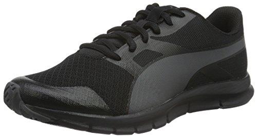 Puma Unisex-Erwachsene Flexracer Sneakers, Schwarz (Black-Asphalt 13), 37 EU thumbnail
