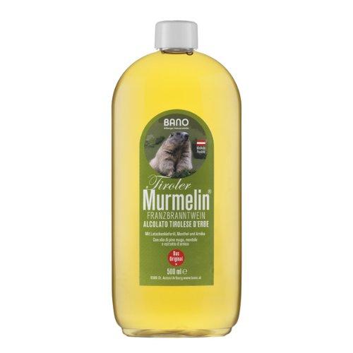 BANO Tiroler Murmelin® Franzbranntwein 500ml