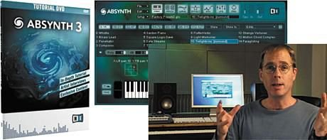Native Instruments Absynth 3 Tutorial DVD