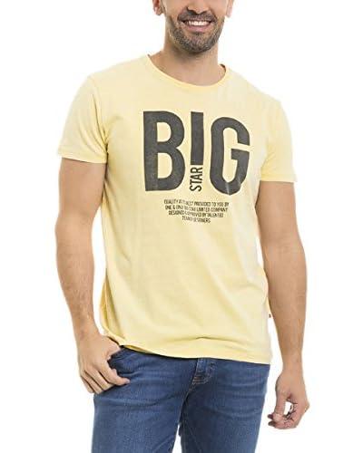 BIG STAR T-Shirt Methos_Ts_Ss gelb