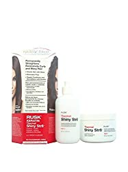 Rusk Keratin Thermal Shiny Permanent Straightener Normal/Tinted for Women, 2 Count