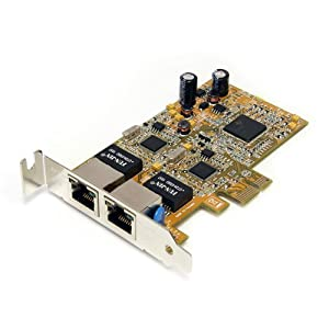 Profile  on Startech Com Low Profile Dual Port Gigabit Network Server Adapter Nic