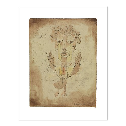 Angelus Novus by Paul Klee, 1920. Art Print (Paul Klee Angelus Novus compare prices)