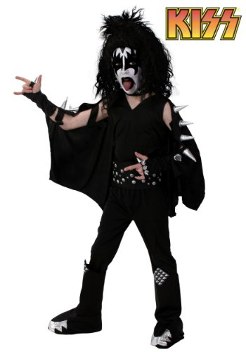 Big Boys' Screenprint Kiss Demon Costume