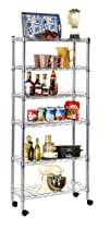 Ever Concept 6-Tier Rolling Storage Cart