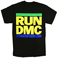 RUN DMC Music Brazil Flag Soccer Colors T-Shirt