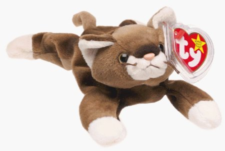 Ty Beanie Babies - Pounce the Cat - 1