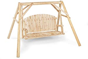 Jack Post North Woods 5-foot Log Swing And Frame Natural Finish by Jack Post