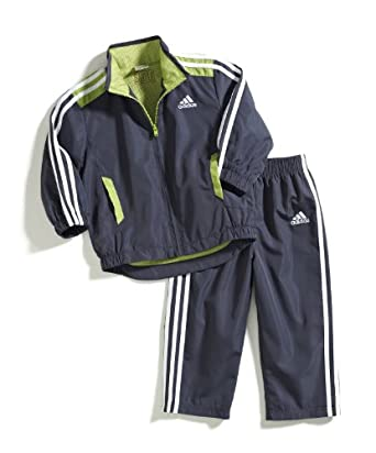 adidas Baby-Boys Infant Itb Essential Q15 Set, Dark Grey, 6 Months