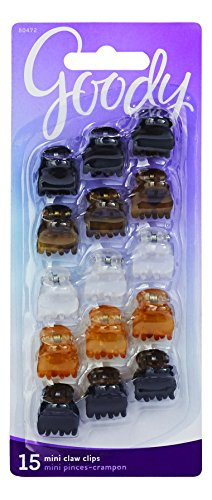 goody-claw-hair-clips-mini-crown-assorted-colors-15-count