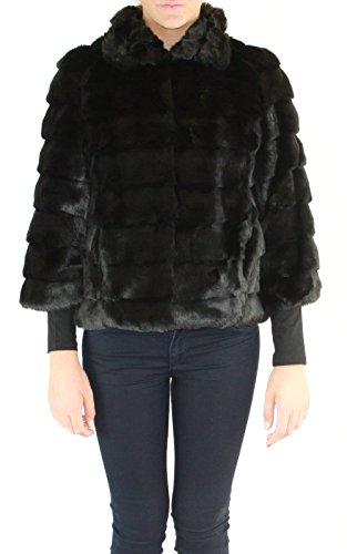 GUESS, MUESSER COAT - W63L07W7IH0 - Cappotto da donna, colore a996 noir/jet black a996, taglia M