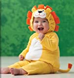 Carter's Halloween Costume Lion Yellow Orange 2 Pieces NEW Baby Toddler (6-9 months)