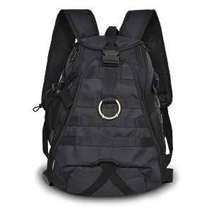 Everest Technical Hydration Backpack Carry Shoulder Bag - Black